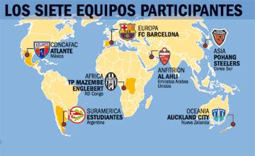 Mapa Mundial Clubes FIFA2