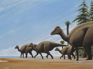 Recreación del Blasisaurus canudo